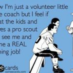 i know i'm just a volunteer little league coach