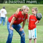 happiness is being a baseball mom