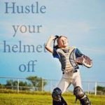 hustle your helmet off
