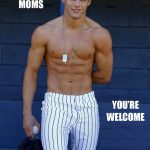 its friday baseball moms