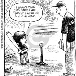 tee ball kid comic