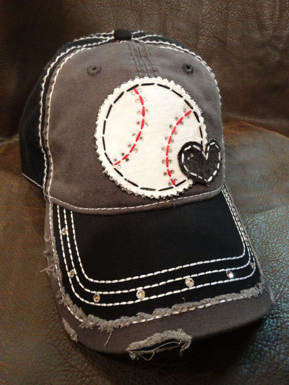cute custom baseball mom hat