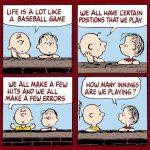 peanuts baseball meme