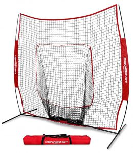 PowerNet baseball and softball practice net