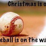 christmas is over baseball meme