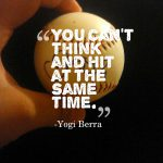 yogi berra motivational baseball quote