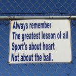 sport's about heart