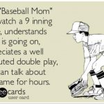 this baseball mom