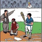 whoa time out baseball cartoon