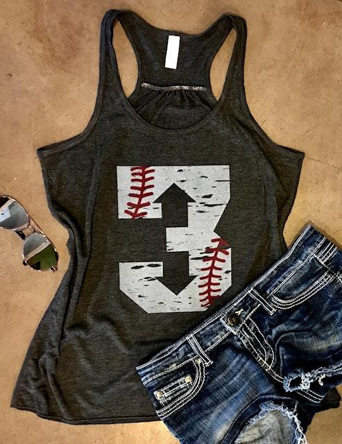 custom number tank top