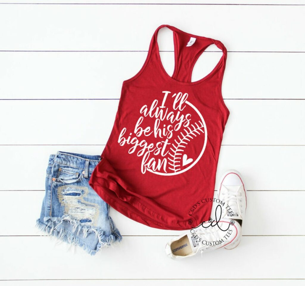 etsy i'll always be his biggest fan tank top