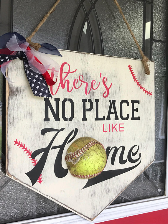 heres no place like home softball art