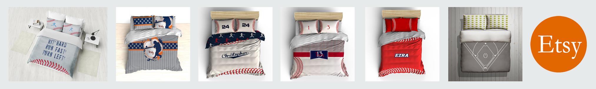 etsy baseball bedding banner3