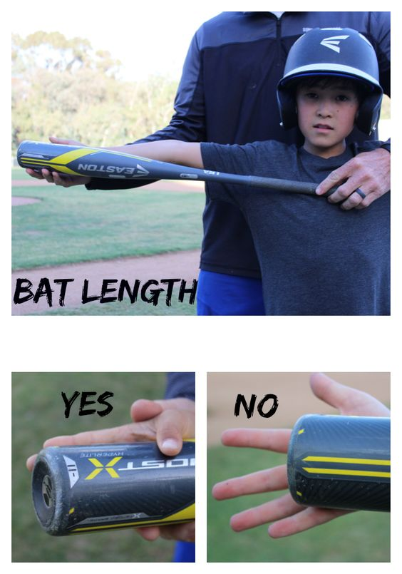 baseball bat length check system