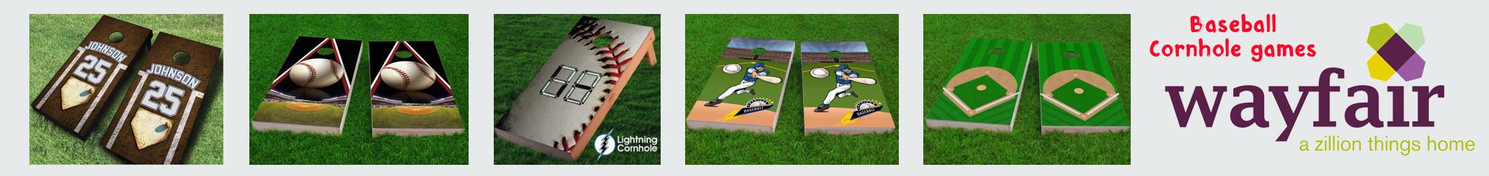 wayfair baseball cornhole games