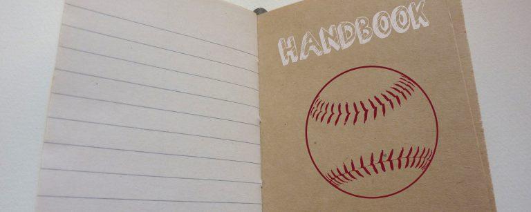 baseball handbook banner lighter