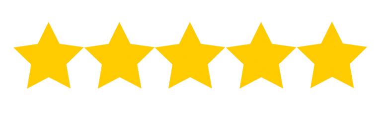 5-stars no background