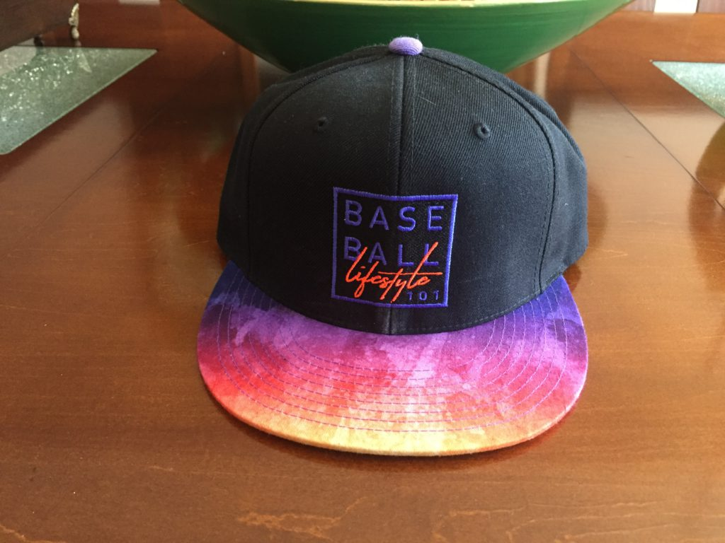 baseball lifestyle 101 hat front