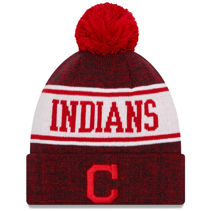 indians cuffed youth hat