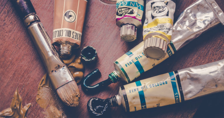 artist supplies cropped