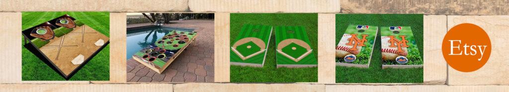 etsy baseball cornhole leaderboard banner