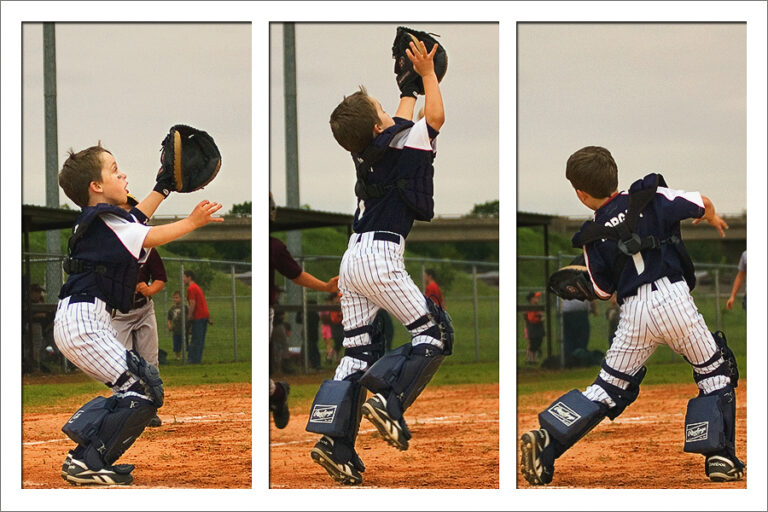 catcher triptych