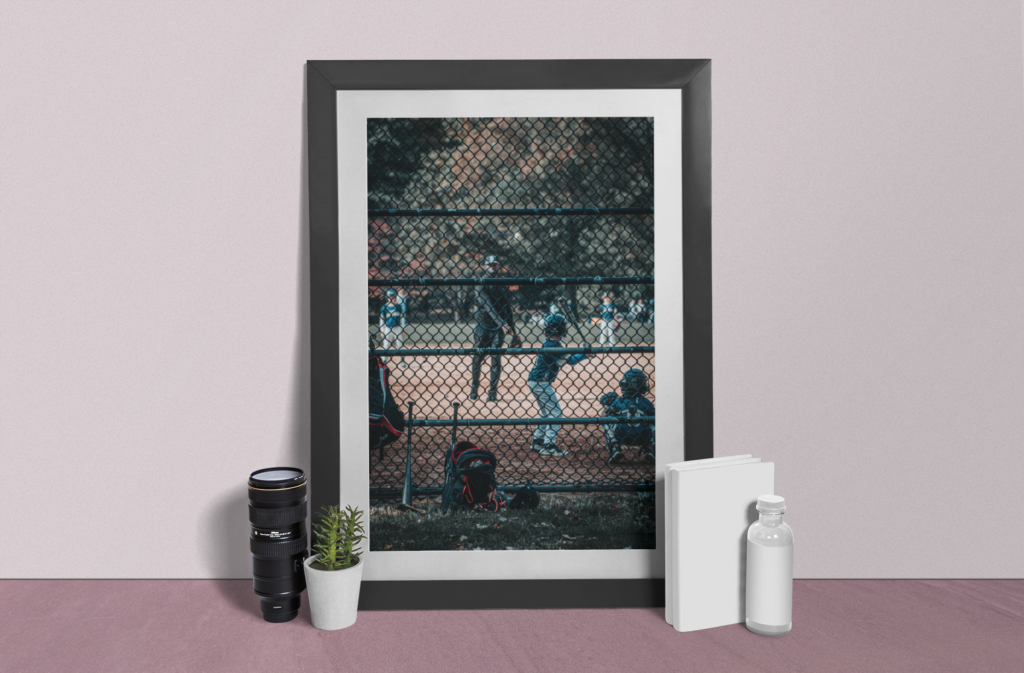 photo-frame-mockup-featuring-a-camera-lens-and-a-plant-pot-888-el