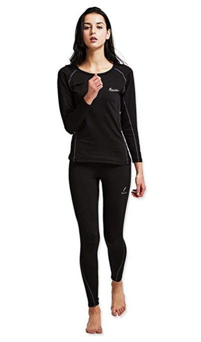 Feelvery Women's HEATPRO Active Performance Long Johns Thermal Underwear