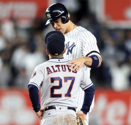 aaron judge and jose altuve