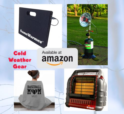 amazon cold weather gear with background banner