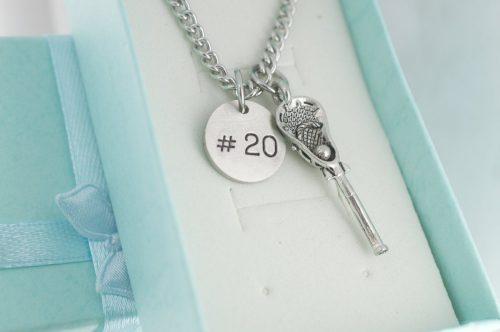 custom lacrosse necklace