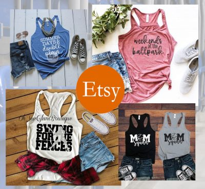 etsy baseball tank tops rectangular banner