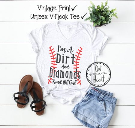 etsy i'm a dirt & diamonds kind of girl