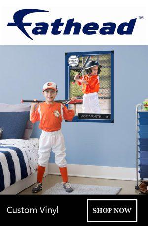 fathead rectangular baseball banner
