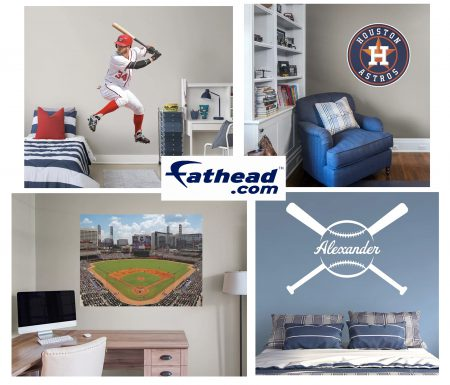 fathead rectangular multi sticker banner