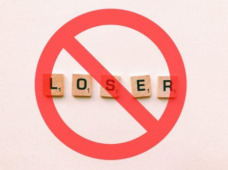 no loser banner