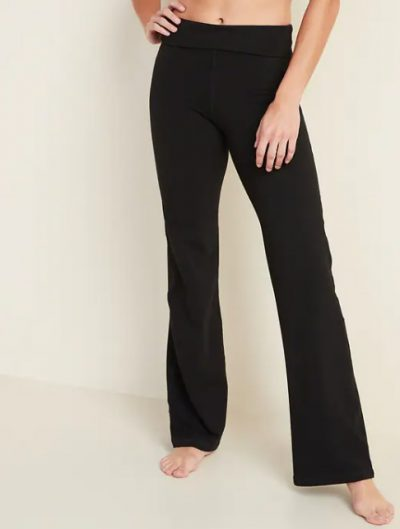 old navy mid rise wide leg yoga pants