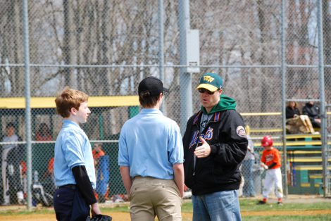 talking to umpires