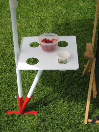 umbrella stand table