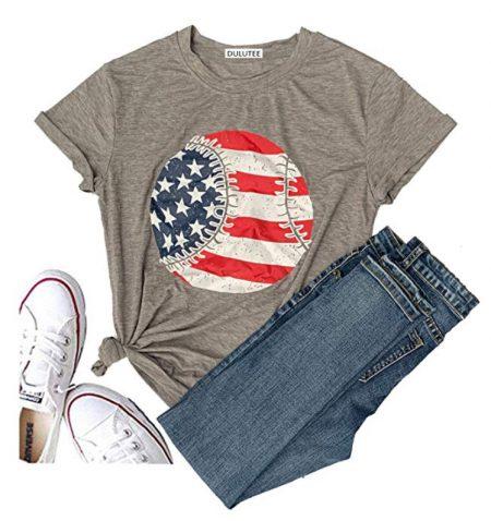 vintage flag baseball shirt
