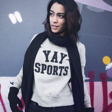 yay sports sweatshirt
